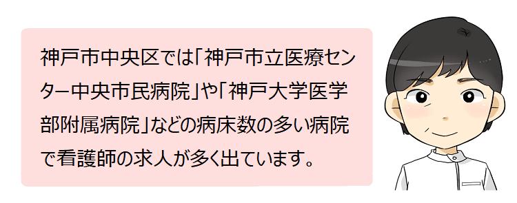 神戸市中央区(兵庫県)の看護師採用情報