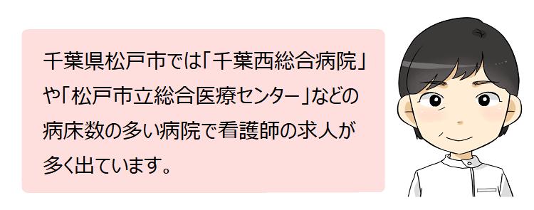 松戸市(千葉県)の看護師採用情報