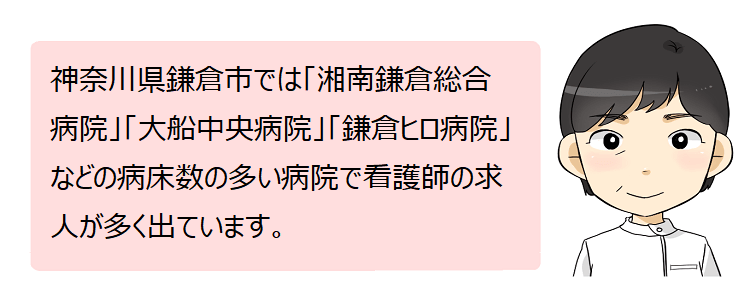 鎌倉市(神奈川県)の看護師採用情報