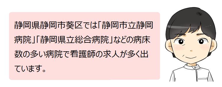 静岡市葵区(静岡県)の看護師採用情報